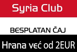 Sirija kafe, besplatan čaj i HALAL hrana, Banjica Beograd